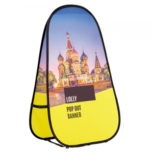 Lolly Pop Out Banner