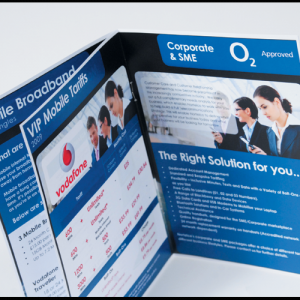 Digital 150gsm A4 Booklets: with border