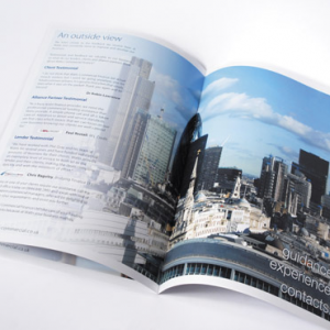 Digital 170gsm Silk A4 Booklets: with border