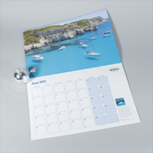 100gsm A4 14mth Digital Calendar : 2 Pages Per Mth