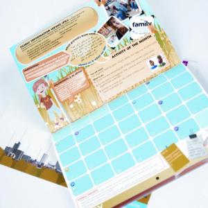 Digital Doubler 14 Month Calendars : 170gsm Silk