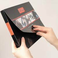 High Capacity Gloss Laminated Folders