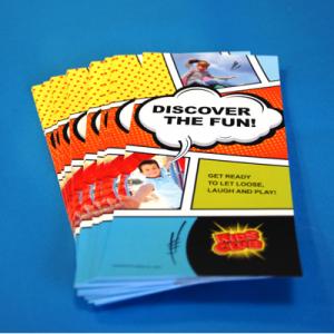 Digitale Glossy Leaflets