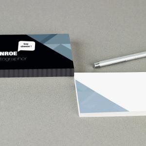 Carte de correspondance 350g soft touch
