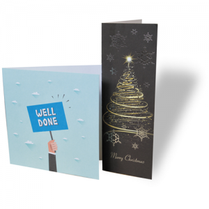 Luxury Bio Greeting Cards