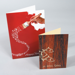 Greeting Cards: Silk | Creased