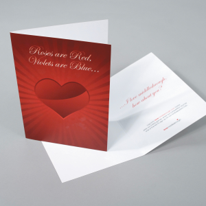 400gsm Silk Greeting Cards