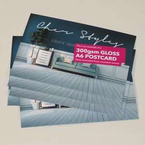 300gsm Postcards