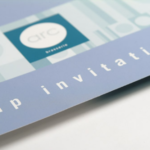 400gsm Silk Invitations