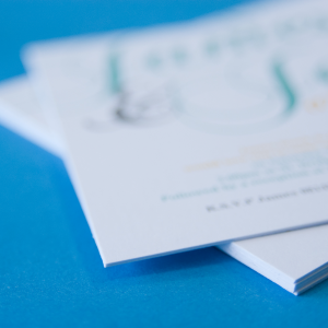 700gsm Uncoated Invitations