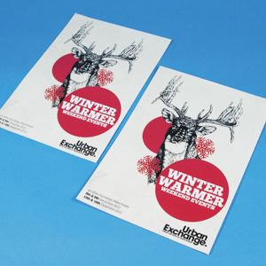 160gsm Uncoated Leaflets