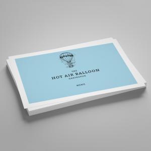 170gsm Silk Leaflets