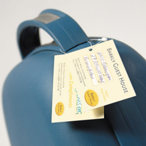 400gsm Luggage Tags
