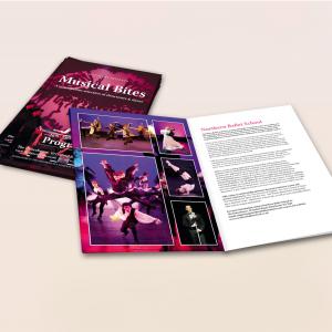 170gsm Gloss A4 Stapled Brochures