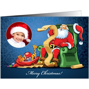 300gsm Trucard Christmas Cards (A5 Folded Size)