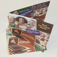 100gsm Uncoated Folded Leaflets