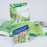 115gsm Gloss Folded Leaflets