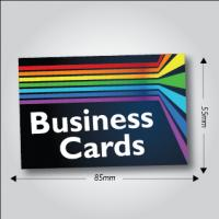 350gsm Matt Laminated Business Cards