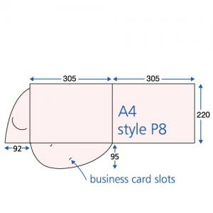 Uncoated Interlocking Presentation Folders