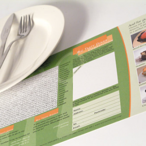 100gsm Uncoated Place Mats