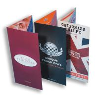 280gsm Gloss Folded Flyers