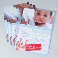 350gsm Uncoated Flyers