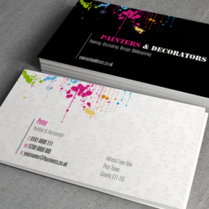 UKM 350gsm Uncoated Business Card
