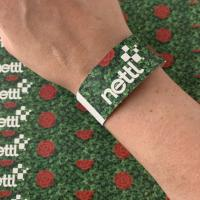 Full Colour Printed Paper Wristbands