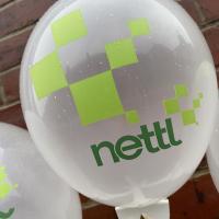 Printed Crystal Coloured Latex Balloons