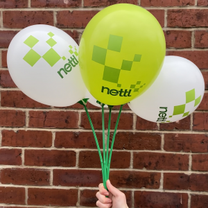 Printed Standard Coloured Latex Balloons