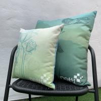 Smooth Linen Cushions