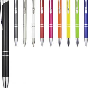 Aluminium Click Ballpoint Pen