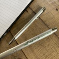 Aluminium Click Ballpoint Pens