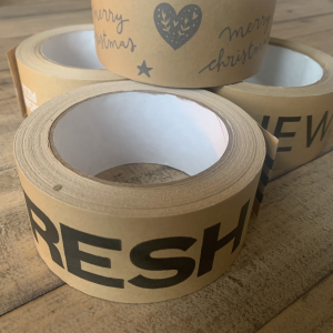 Custom Printed Kraft Paper Tape