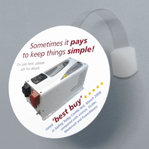 400gsm Point-of-Sale Shaped Wobblers