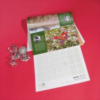 100gsm Uncoated 14 Mth Calendars : 2 Pages Per Mth