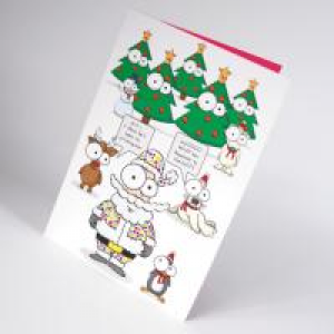 Gloss Laminated Christmas Cards