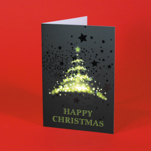 400gsm Spot Gloss Christmas Cards