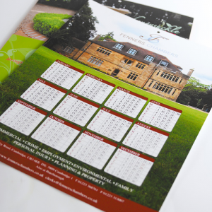 400gsm Hanging Calendars With Slots