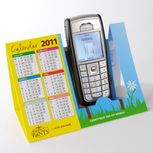 Mobiele telefoonhouder kalenders