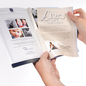 A5 Perforated Voucher Booklets