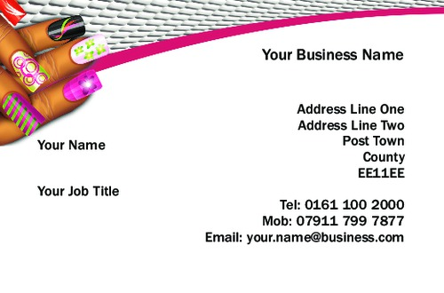 Online print templates printing nails business card reheart Choice Image
