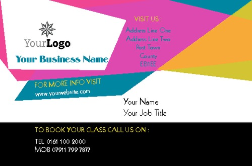Dance business card by c v sane design dance business card reheart Gallery