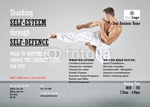 A Sample Martial Arts School Business Plan Template