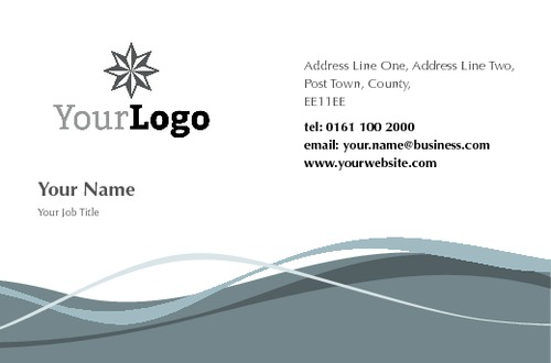 Online Print Templates Printingcom - Uk business card template