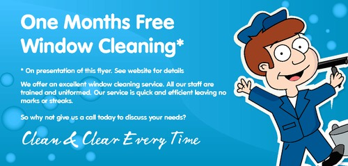 window cleaning templates free