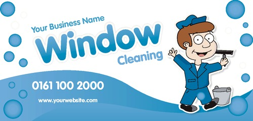 Window cleaning leaflets