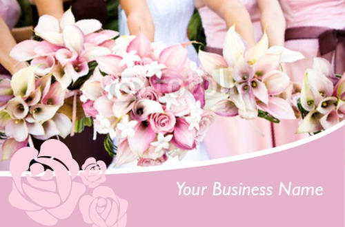 Florist  Business Card  by Ro Do