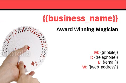 Online print templates printing entertainer business card colourmoves