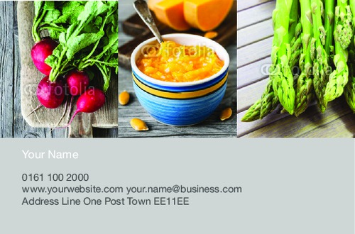 Grocery Store Business Card  by Ro Do